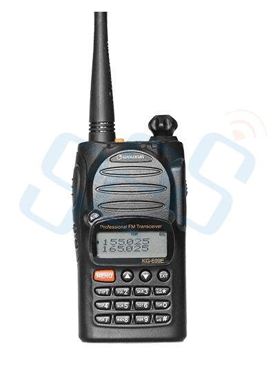 bilder für Beste qualität wouxun kg-699e 66-88 mhz high power handheld zweiwegradio/walkie talkie mit lcd-display ip55 wasserdicht