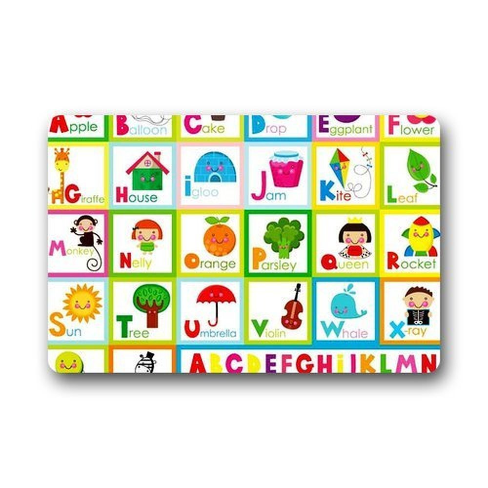 Memory Home Abc Alphabet Doormat Indoor Machine Washable Home Floor Mats  Rugs Funny Rugs Bathroom Kitchen