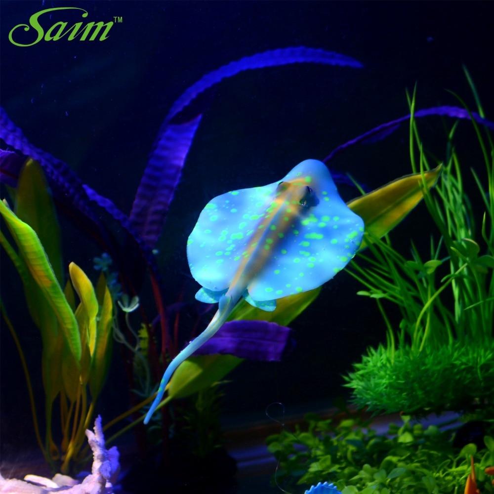 Flat colorful artificial fake fish aquarium fish tank home for Fake artificial aquarium fish tank