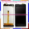 Черный 4.7 ''Новый Для Highscreen Omega Prime S Полный ЖК-Экран Дигитайзер С Сенсорным Экраном Полной Сборки Кода Отслеживания