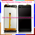 Black 4.7'' New For Highscreen Omega Prime S Full LCD Screen Display Digitizer With Touch Screen Complete Assembly Tracking Code