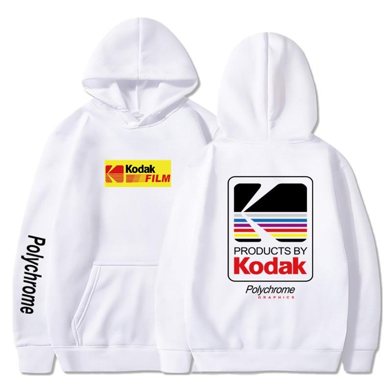 Japanese Hip Hop Winter Fleece Hoody Harajuku kodak Jackets Men Women Sweatshirts 21