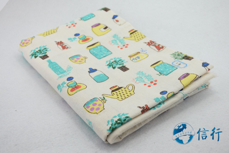 Cotton Fabric#3428 Cover Table