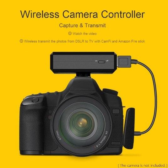 Upggraded CamFi CF102 Wireless Wifi DSLR Camera Remote