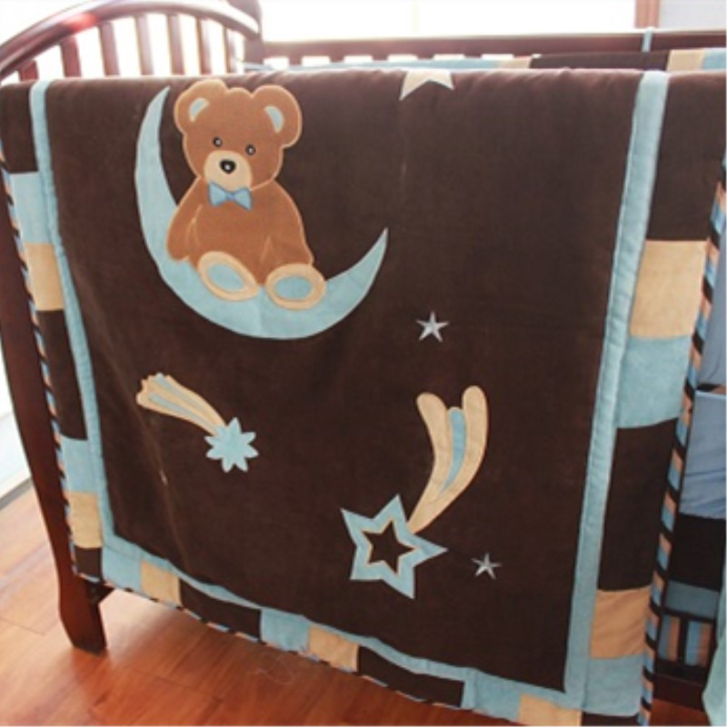 Lions Tigers And Bears Crib Bedding