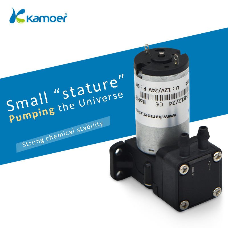 Kamoer KLP180 Micro pompe à diaphragme 12/24 V brosse moteur Mini pompe