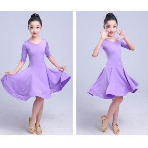 Image 2 - בנות קרנבל ג אז dancewear תלבושות ילדים מודרני סלוניים לטיני מסיבת ריקודי שמלת ריקוד ילד שמלה ללבוש בגדים עבור בנות