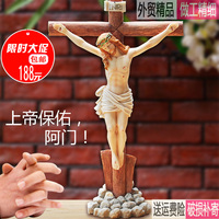 2018 Free Shipping Bible Church Large Household Furnishing Articles Christians Bitter As The Cross Catholic Christmas Gifts