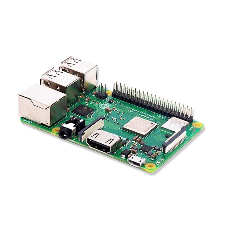 Nouveau 2018 Original Pi3 B + Raspberry Pi 3 modèle B + Plus carte 1 GB RAM LPDDR2 Quad-Core Wifi Bluetooth dissipateur de chaleur ventilateur de refroidissement - 5