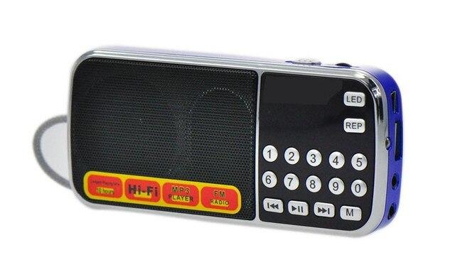 L-088am бесплатная доставка двухдиапазонный перезаряжаемые портативный мини карманный цифровой AM FM радио с USB порт TF микро-sd-карта слот