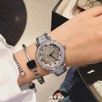 Dimini 女性の高級ブランド腕時計ファッション女性クォーツ女性シルバー腕時計女性女性レロジオ Feminino -