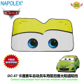 accessories Cartoon Cars, front window sunshade Foils Windshield Visor Cover UV Protect Car Film sun shade DC-57 free shipping