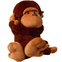 Baby Plush Toys 60cm Long Arm Giant Monkey Plush Toy Stuffed Plush Animal Soft Toy WL145