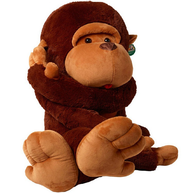 baby plush toys 60cm long arm giant monkey plush toy stuffed plush animal soft toy wl145 in. Black Bedroom Furniture Sets. Home Design Ideas