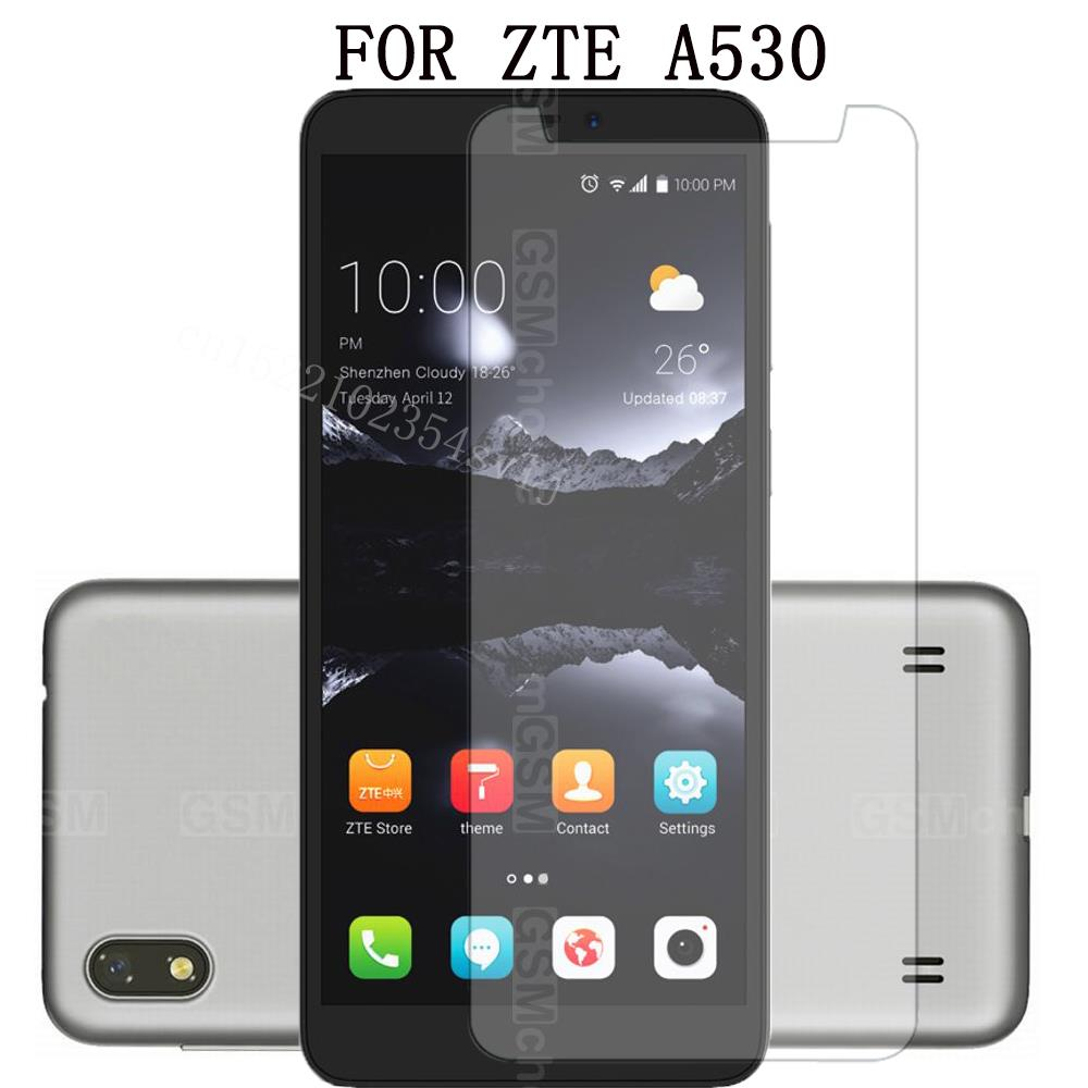 Smartphone mobile Tempered Glass for ZTE Blade a530 Explosion-proof Protective Film Screen Protector cover phone for ZTE A530