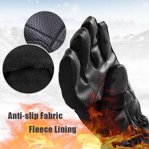 Image 2 - ROCKBROS gants de moto imperméable thermique pour hommes et femmes, pour Snowboard, pour neige