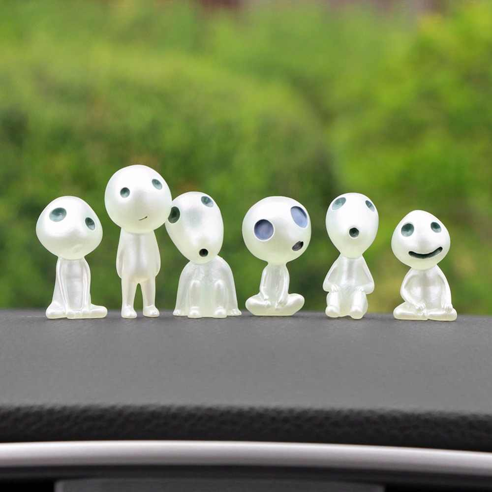 Car Ornament Resin Cute Mini Luminous Decoration Alien Dolls Automobiles Interior Forest Spirit Elf Decor For Princess Mononoke Car Ornament Cute Car Ornamentsornamental Cars Aliexpress
