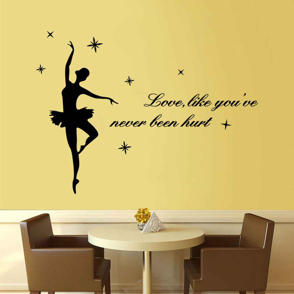 Cool Enchanting Quotes Vinyl Wall Decor Pictures Inspiration - The ...