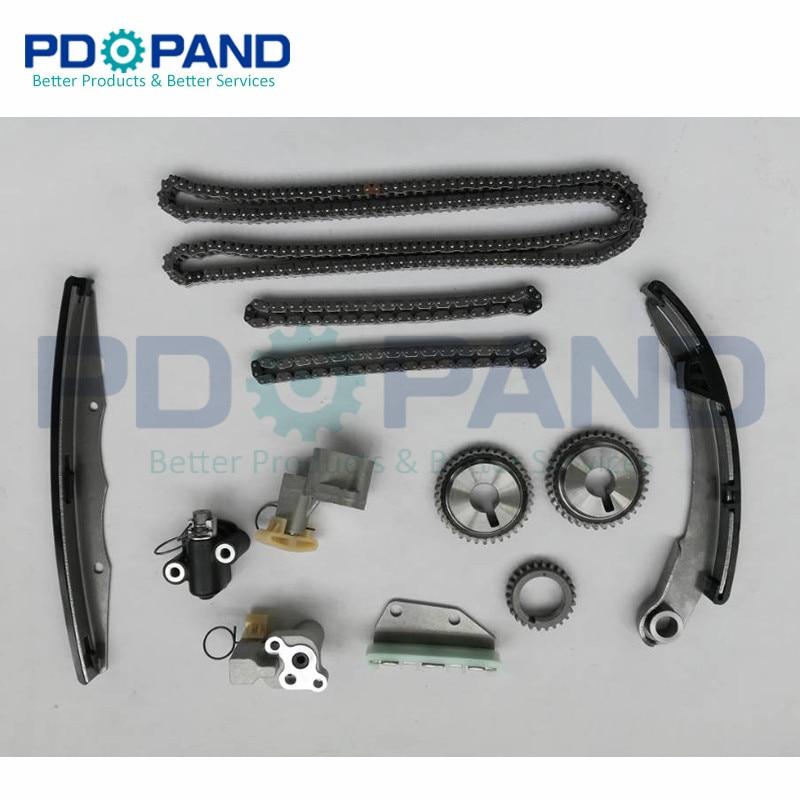Timing Chain kit distribution for Nissan Hardbody Frontier Pathfinder D22 D40 R51 Xterra primera R11 pickup