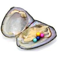 10 четверных устриц 4 жемчуга в одном oyster PJW229