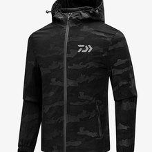 DAIWA Новая Мужская дышащая болотная куртка для рыбалки, водонепроницаемая куртка для рыбалки, одежда для охоты, рыбалки