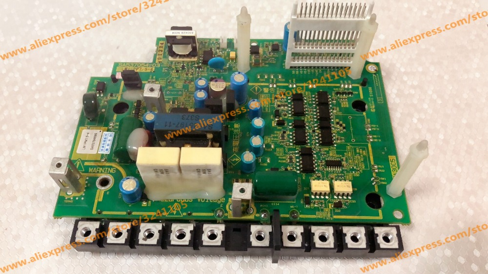 Second-hand Test Good  SA537054-03  LM1-PP7.5-4  Drive Board With IGBT Module For 7.5KW Lift Inverter