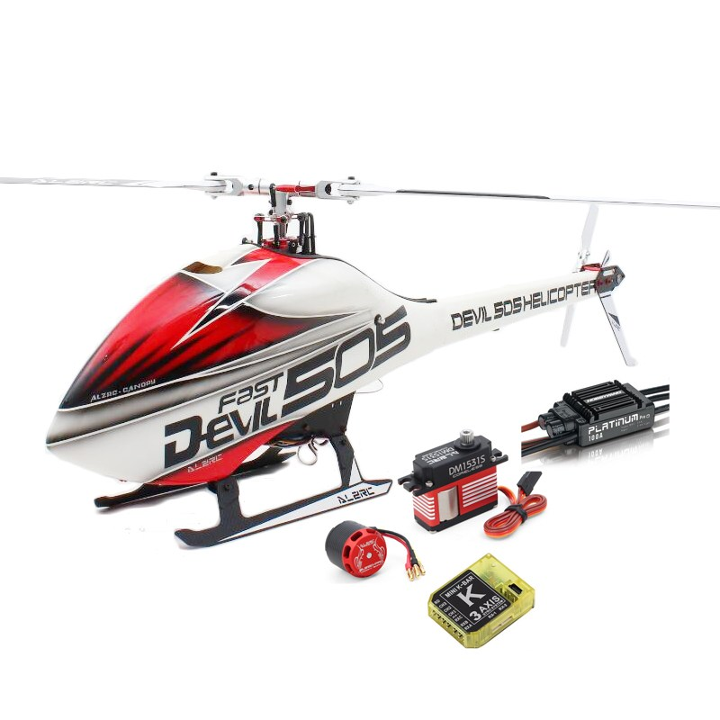 Hot Sale Kids Toys ALZRC Devil 505 FAST RC Helicopter Super Combo