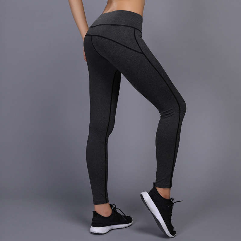 New Yoga Pants Women Gym Workout Fitness Leggings Compression Pants Running Tights Jogging Sport Leggings Skinny Crossfit Pants