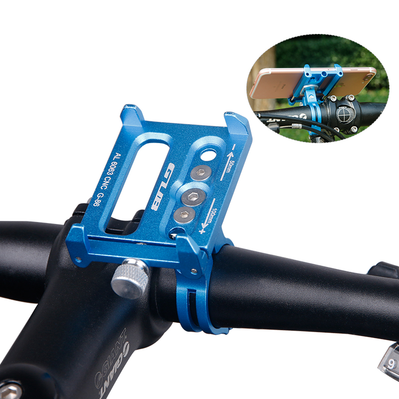 Aluminum MTB <font><b>Bike</b></font> Bicycle Motorcycle <font><b>Phone</b></font> <font><b>Holder</b></font> Handlebar GPS Mount <font><b>Holder</b></font> For <font><b>Samsung</b></font> Note 9 <font><b>S9</b></font> S8 3.5-6.2 inch Smartphone image