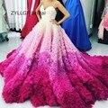 Zyllgf nupcial vestido de baile querida vestidos de baile de luxo colorido spaghetti mulheres evening prom vestidos formais dress sa79