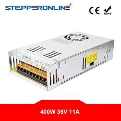 400W 36V 11A 115/230V zasilacz impulsowy do silnika krokowego 3D drukarki zestawy routera CNC