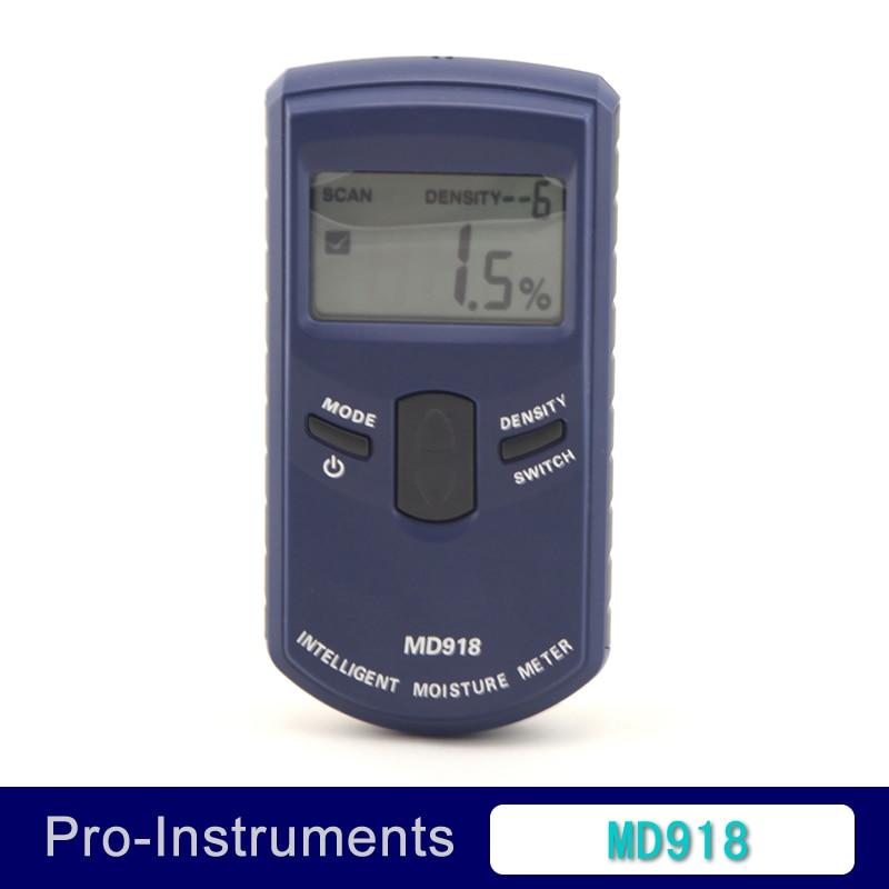 Digital inductive moisture meter for wood 4%~80% MD918  цены