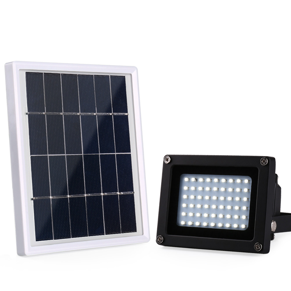 Spotlight Wall Lamps 54 Leds Billboard Solar Floodlight Outdoor Emergency Flood Light Dark Sensor Solar Light