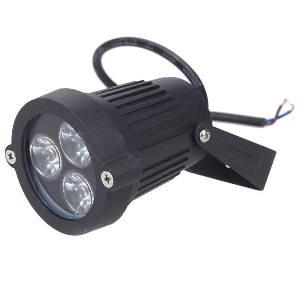 6W LED lawn light emitters with stakes spotlight IP65 waterproof outdoor garden pond parkland Warm White AC85 - 265V
