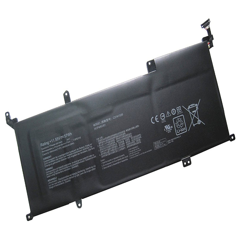 все цены на Laptop Battery C31N1539 (11.55V 57WH 4800MAH ) For ASUS ZenBook UX305UA UX305UA-1D онлайн