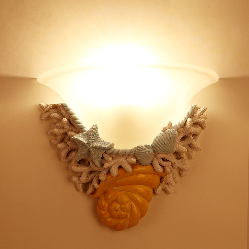 Wall Lamps Resin lamp body bed Room E27 Holder Corridor Stair Lighting Decoration Staircase Living Room Lamp sconce fixture