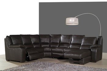 real leather sofa set living room sofa sectional/corner sofa set home furniture couches functional headrest U shape recliner image of modern wooden sofa set and couches designs in fabric for sale