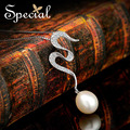 Special Fashion Natural Pearls Necklaces & Pendants 925 Sterling Silver Pendant Necklaces For Girls Women Free Shipping XL141179