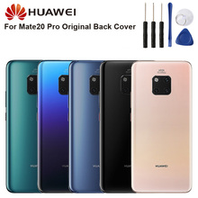 Original Glass Battery Rear Case For Huawei Mate 20 Pro Mate20 PRO Back Cover Phone Backshell Cases