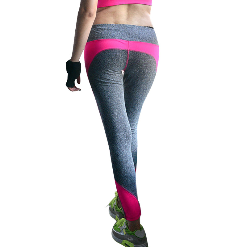 High Quality Sporting  Leggings High Waist Workout Leggings Fitness Pants Stretch Cropped Legins Women