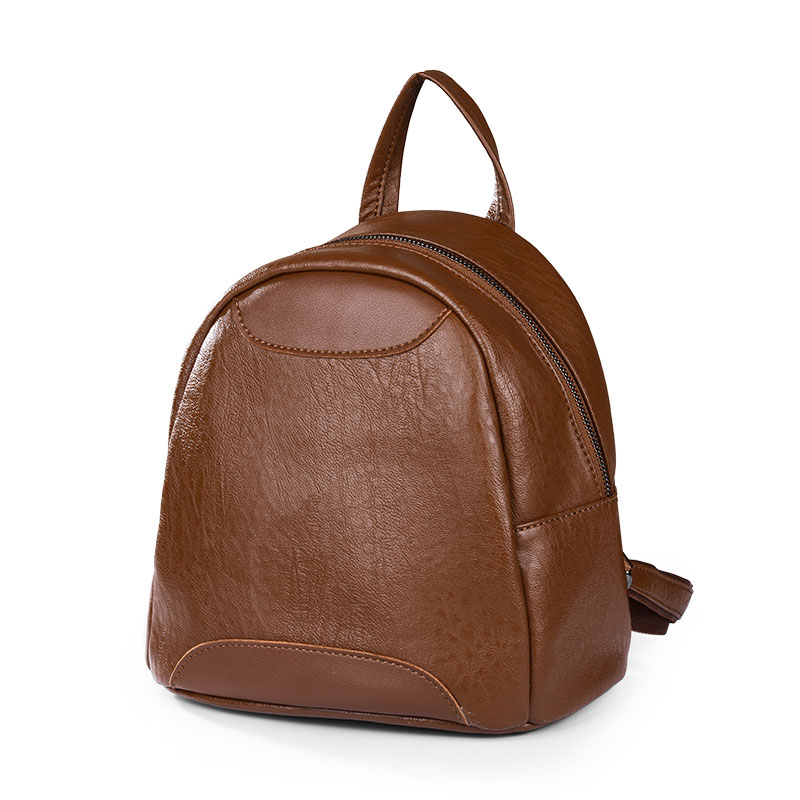 Women's new Korean mini leather zipper shoulder bag Fashion wild spliced leather mini bag leather look mini skirt with zipper details
