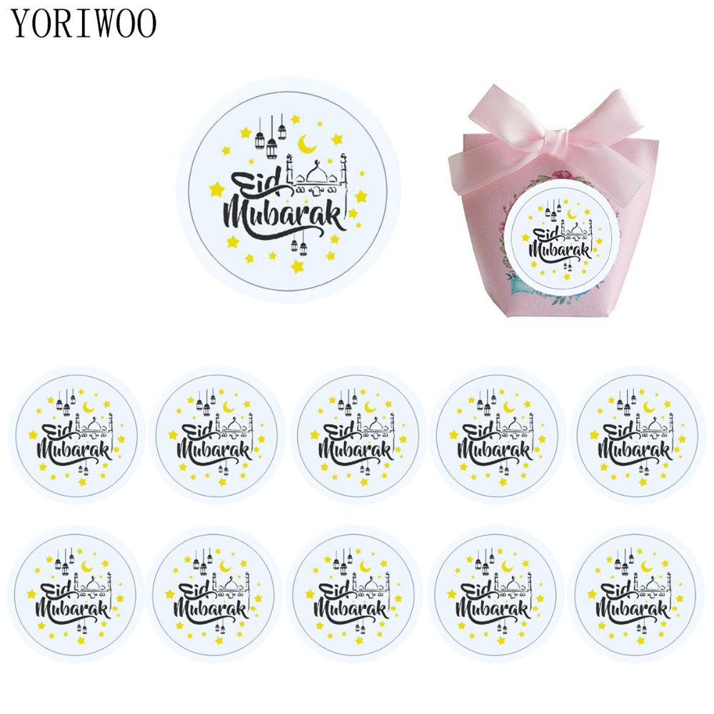 Eid Mubarak Stickers: YORIWOO 120pcs Mubarak Ramadan And Eid Decorations Eid