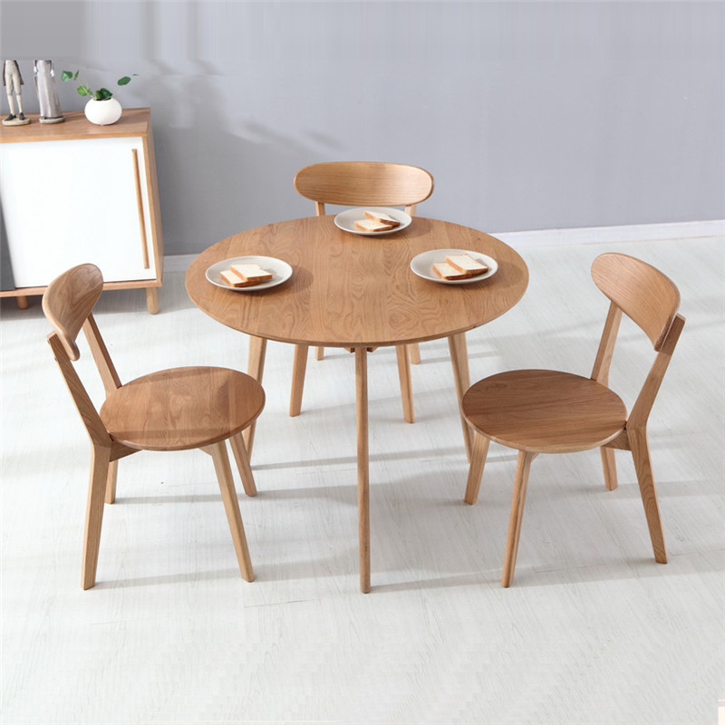 dining tables dining room furniture home furniture solid oak wood roundness dining table - Cheap Dining Tables