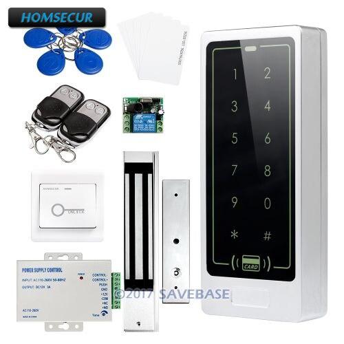 HOMSECUR Waterproof Door Lock 125Khz RFID Access Control System+Tamper Alarm+Wiegand 26