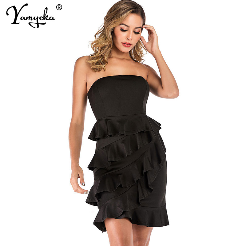 Sexy Summer beach Strapless Bodycon elegant Women Dress irregular Mini Backless off shoulder Night club Party Dresses Vestido HL in Dresses from Women 39 s Clothing
