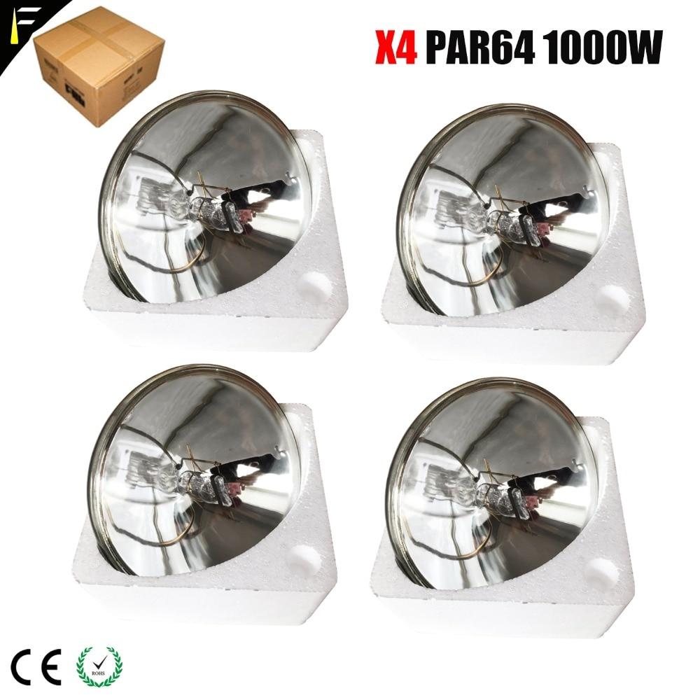 Traditional Par Lamp PAR64 1000 W CP60 CP61 CP62 Bulb Base GX16D Floodlight Par Can Replacement Lamps Free Shipping