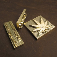 New Customize Hot Brass Stamp Iron Mold With Logo Personalized Mold Heating On Wood Leather League
