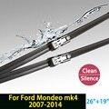 """Limpiaparabrisas para Ford Mondeo mk4 (2007-2014) 26 """"19"""" en forma de botón tipo brazos del limpiaparabrisas sólo HY-011"""