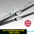 "Wiper blades  for Ford Mondeo mk4 (2007-2014) 26""+19"" fit push button type wiper arms only HY-011"