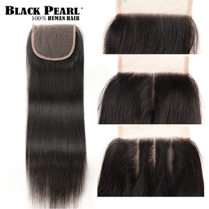 Image 4 - 블랙 펄 30 32 34 인치 페루 헤어 번들 4 개/몫 스트레이트 인간의 머리카락 3 묶음 인간의 머리카락 위브